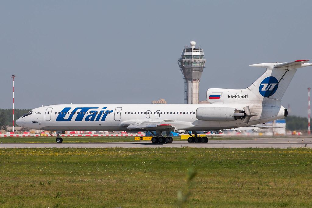 Tu-154M RA-85681 is landing