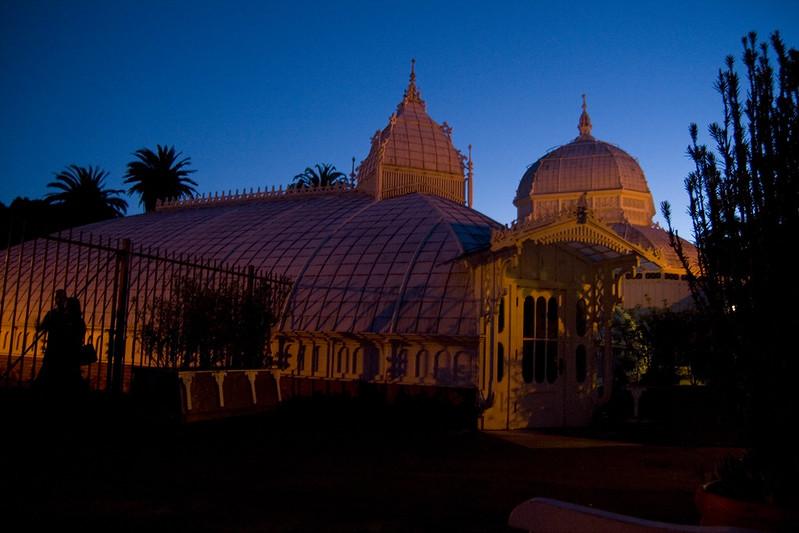 conservatory evening