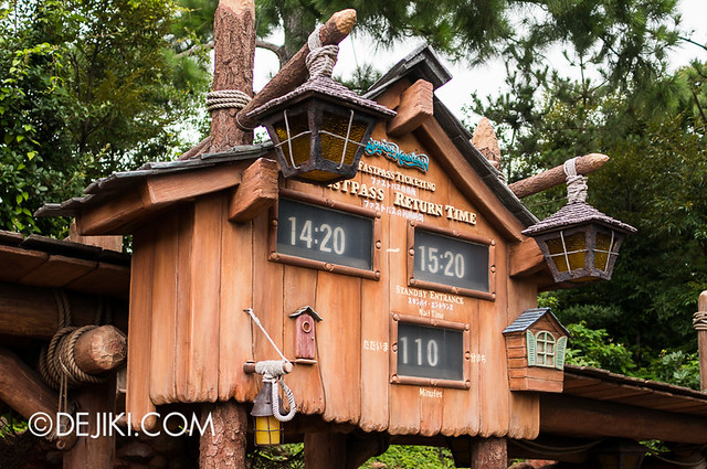 Tokyo Disneyland - Splash Mountain Fastpass Distribution