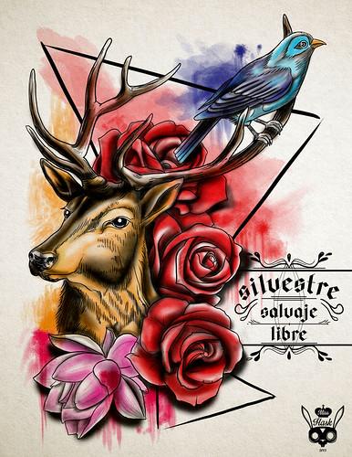 Esto es lo nuevo que tengo para tatuar, diseño único! Si te gusta este diseño escríbeme por inbox y cerremos el negocio! Ya quiero verlo en la piel de algun@ afortunad@...