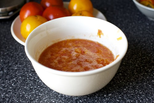tomato guts