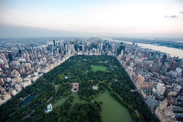 Central Park Aerial [Explore]