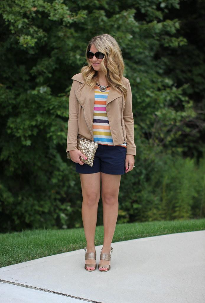 Target tan Moto Jacket outfit