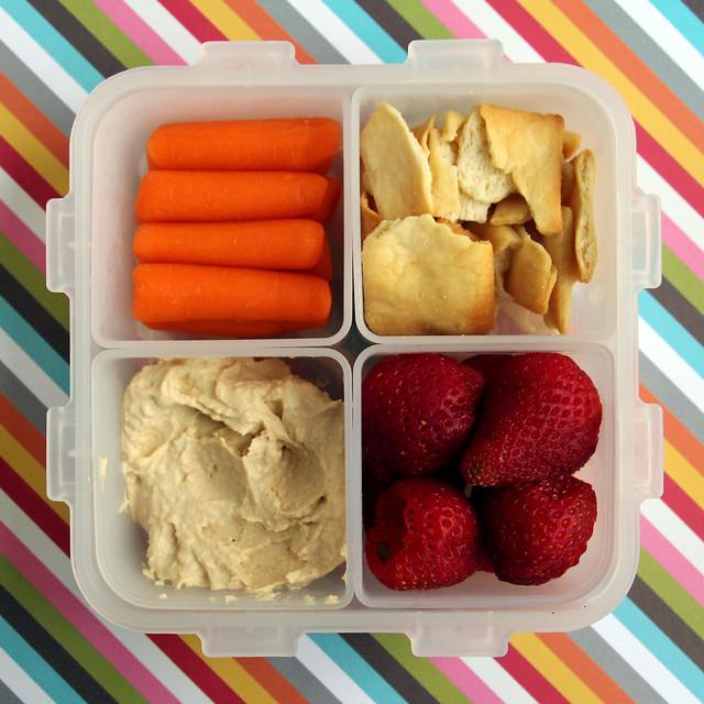 Preschool Hummus Bento #488