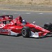 Scott Dixon makes his way up the hill at Sonoma Raceway