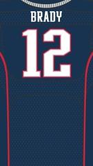 tom brady jersey wallpaper