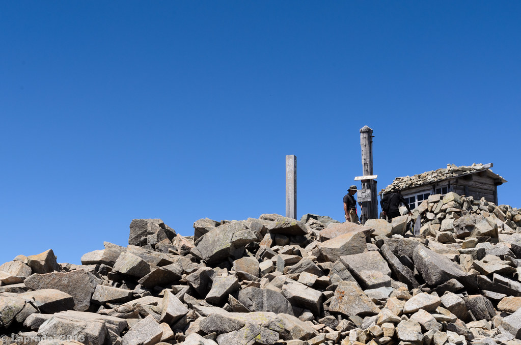 20130812 薬師岳山頂