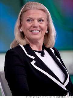 Ginni Rometty, Chairwoman and CEO of IBM, 12 inspiring business people - Anil Labs