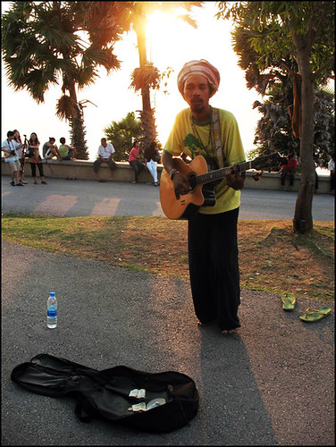 Sunset Guitar Man