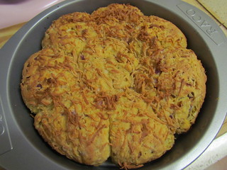 Cheesy Onion Scones