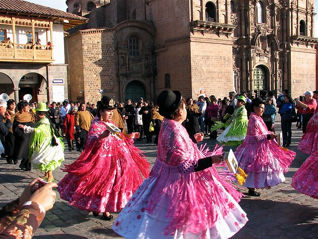 Cusco Natividad celebration