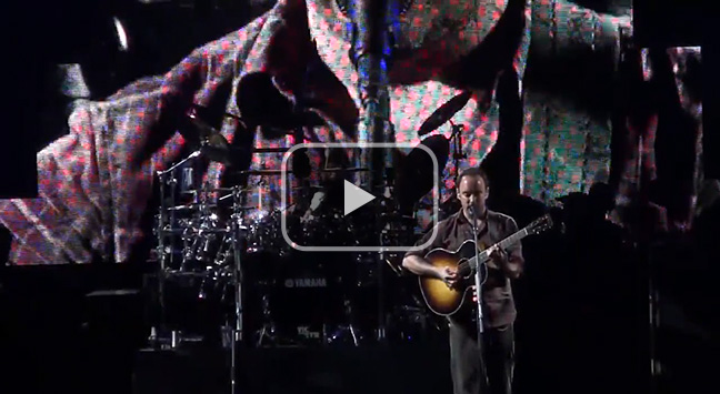 'Typical Situation' - The Dave Matthews Band, The Gorge 31 August, 2012.