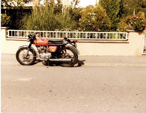 Honda CB 350 K4 350cc OHC 1973 by Michel 67