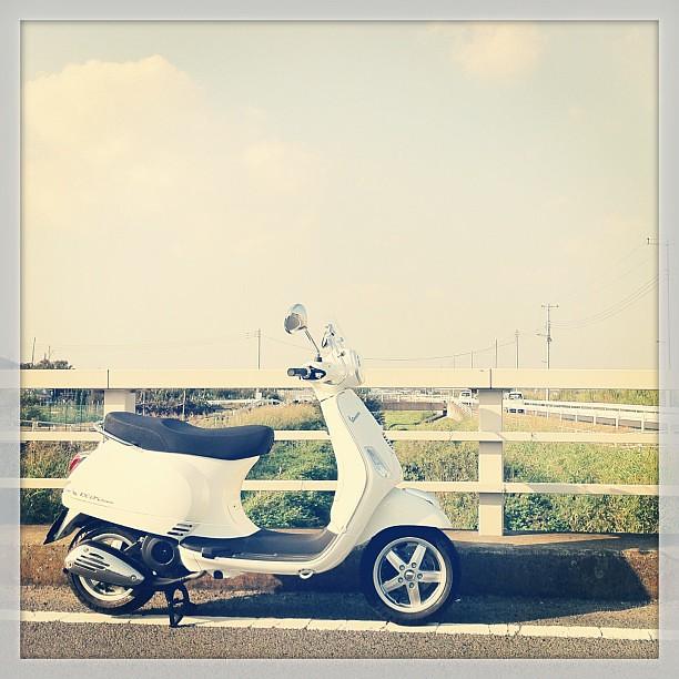 #Piaggio #Vespa LX125 3Vでお散歩。