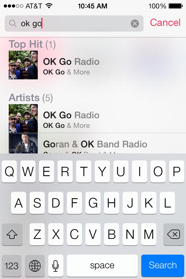 iTunes Radio 6