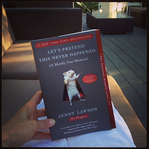 Finally picked up my own copy of @thebloggess's book thx to #NOLA airport (LAX, Boston, JKF & Buffalo need to pick up their game #justsaying) #letspretendthisneverhappened