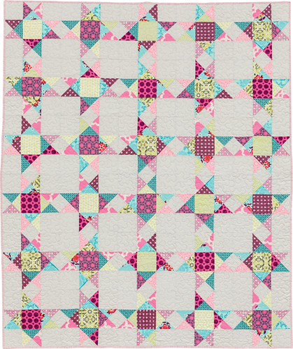 Polaris - from Becoming a Confident Quilter
