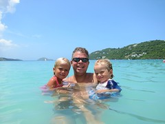 The Kids And I In Magens Bay