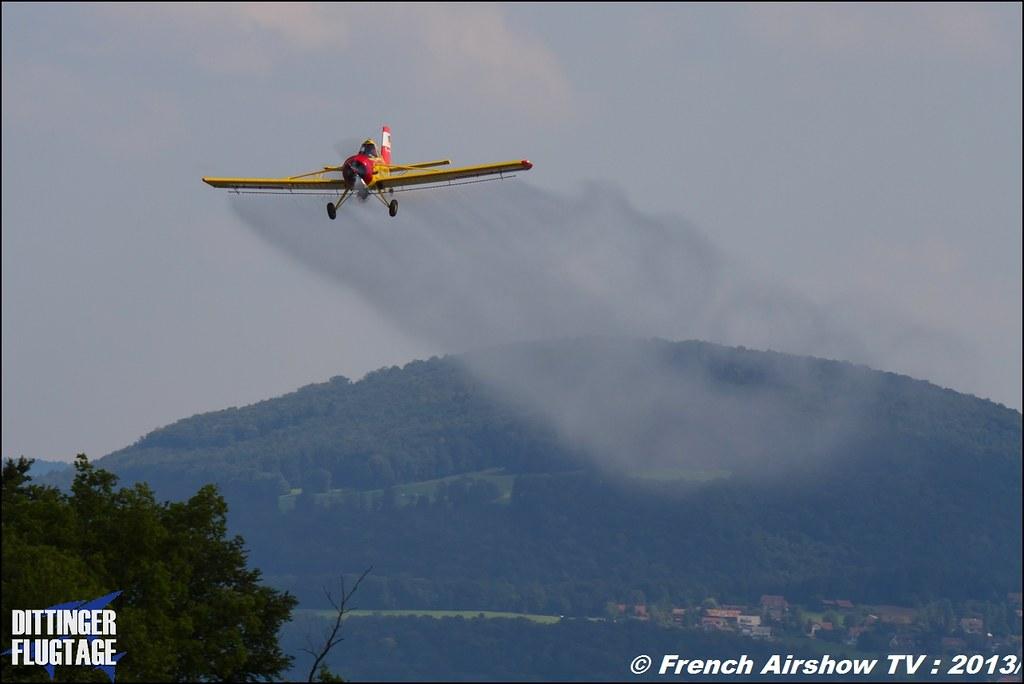 PZL 106 AR Le Tracteur volant , Dittinger Flugtage 2013