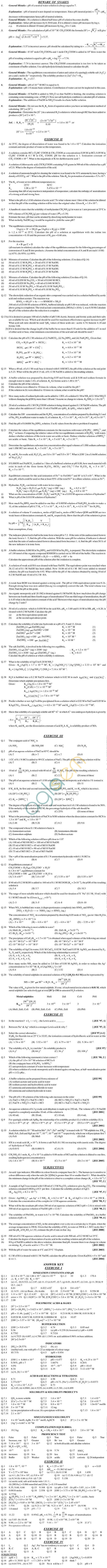 Chemistry Study Material - Chapter 7