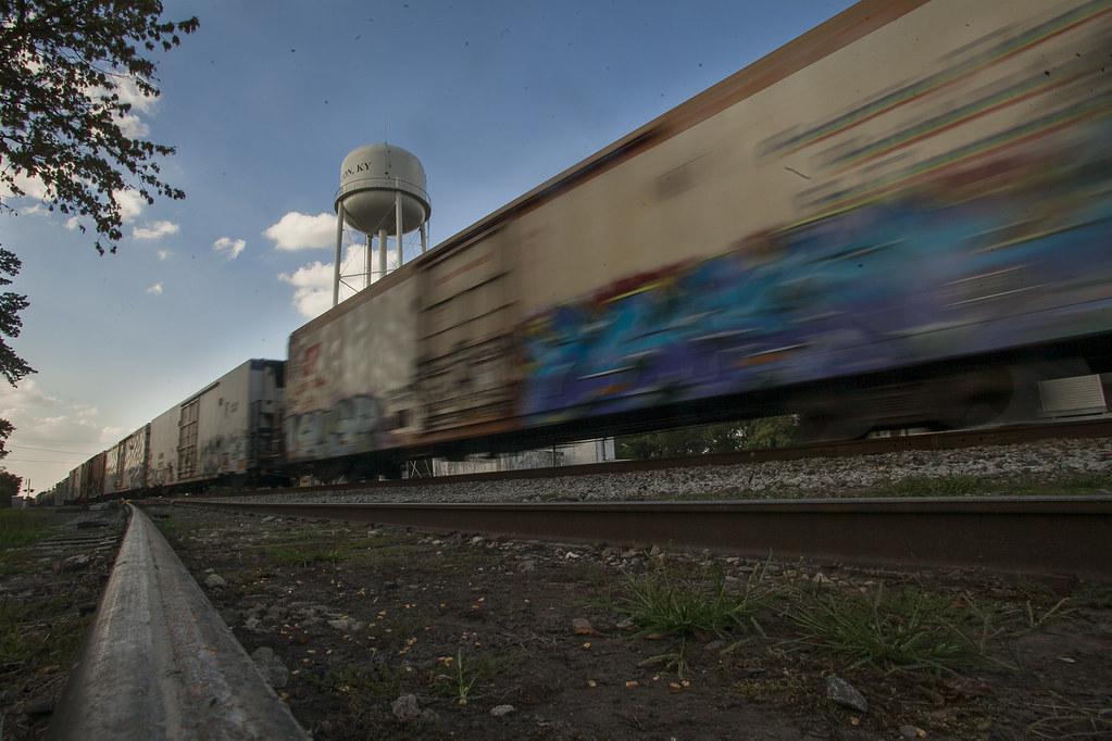 Trenton Train Crossing