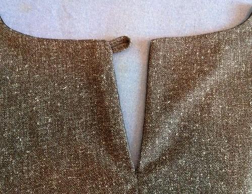 Tweed Peplum Top