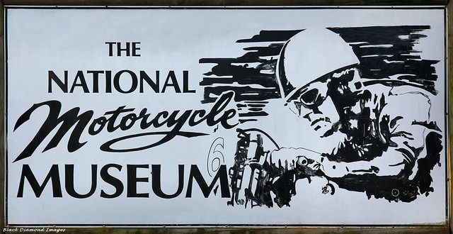 National Motorcycle Museum Banner, Nabiac, NSW, Australia