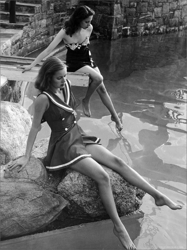 France, June 1946 - Saint-Jean Cap-Ferrat