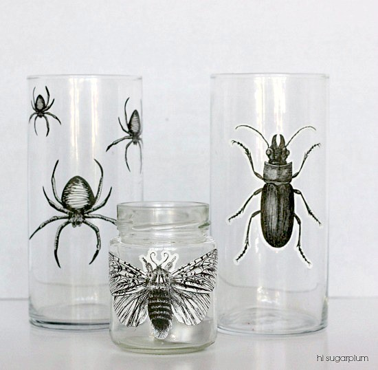 Hi Sugarplum | Halloween Bug Votives