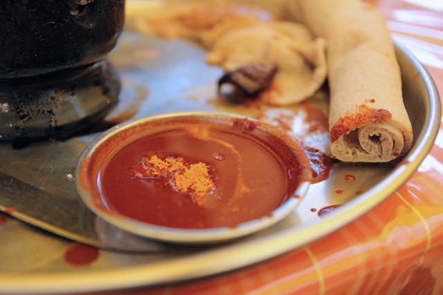 Awaze meat sauce