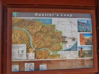 Rustler's Loop Trail Head Signage