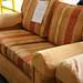2+1+1 Mustard and Terracotta Sofa