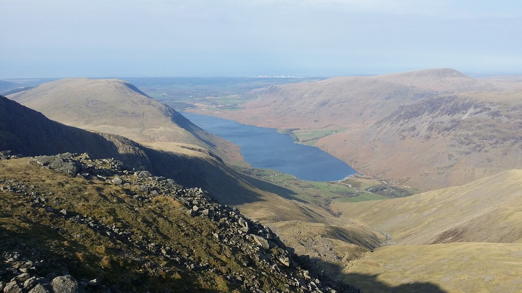 Wasdale from Scafell Pike #sh