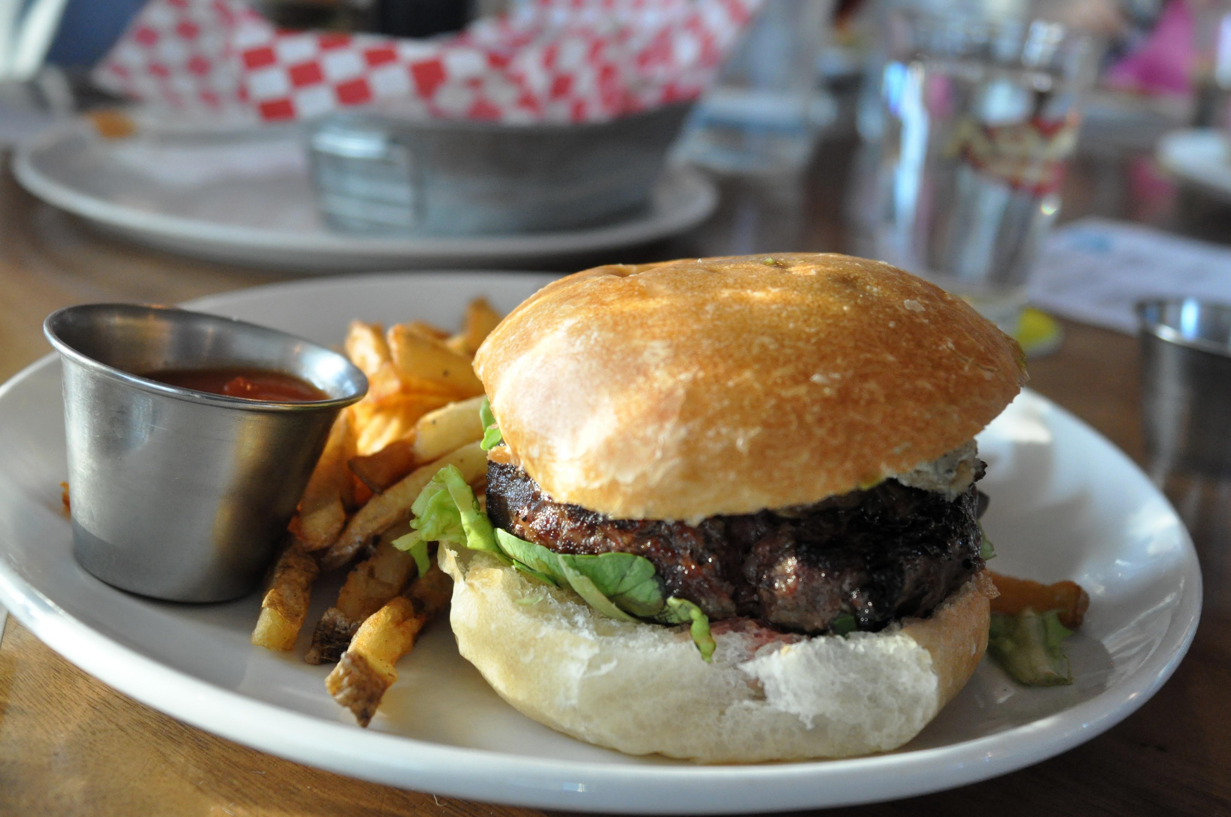 bleu cheese burger