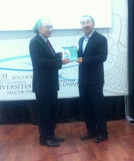 Prof. Dr. Nevzat Tarhan Konya'da 2. Ulusal Tıp Kongresine katıldı