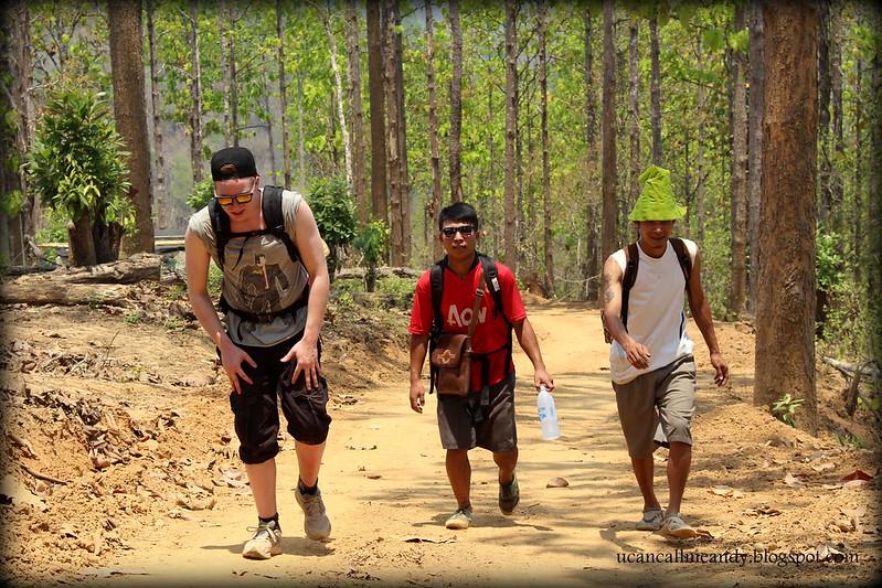 Trekking in Mae Sariang