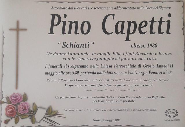 Capetti Pino