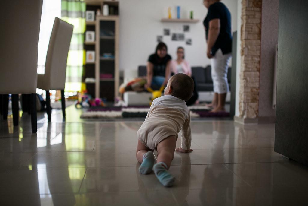 Az Éva által jelenleg nevelt egyik gyermek nappalijukban | Fotó: Magócsi Márton