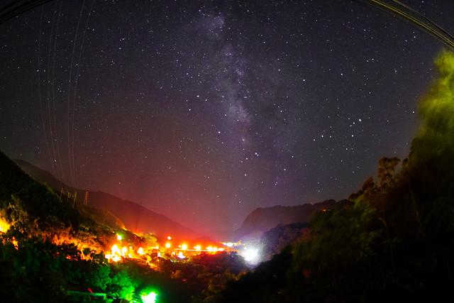 巴陵大橋 - 銀河