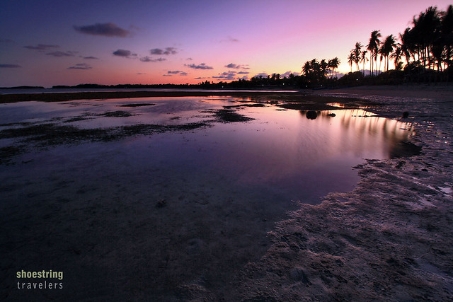 sunset at Tambobong Beach, Dasol, Pangasinan