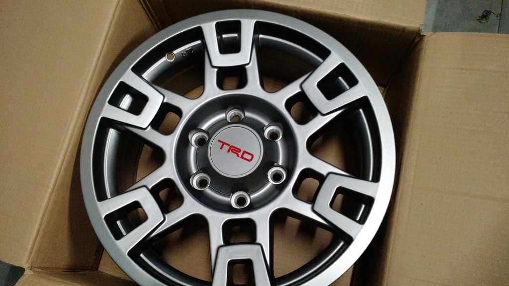 17 inch trd wheels matte black page 26 tacoma world for 17 inch d window wheels