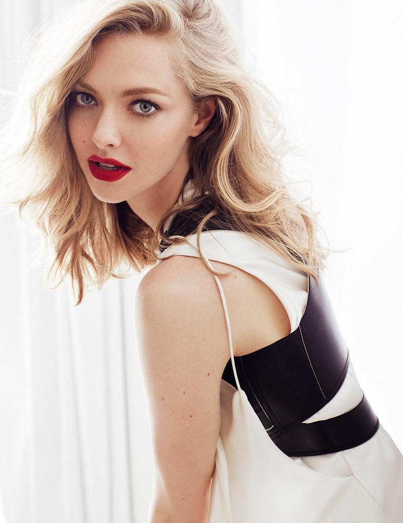 Аманда Сейфрид — Фотосессия для «Vogue» RU 2016 – 5
