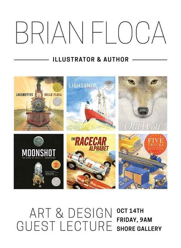 Illustrator Brian Floca Guest Speaker