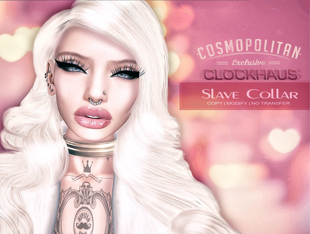 Slave Collar EXCLUSIVE for COSMOPOLITAN - SecondLifeHub.com