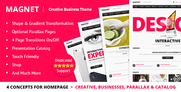 Magnet v1.10 – Creative Business WordPress Theme