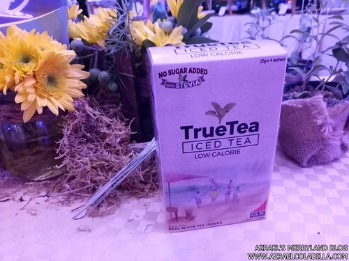 TrueTea iced tea with stevia