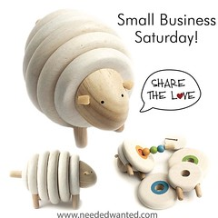 Do you have little ones on you shopping list? Support small businesses this holiday season and share the love. :heart:️ starting today 10% off your full order with Coupon Code: SHARETHELOVE www.neededwanted.com (link in profile) #smallbusinesssaturday #sh