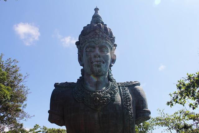 Wisnu Statue at GWK