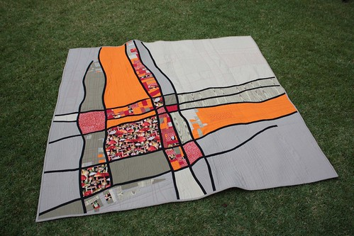Line quilt