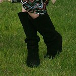 slouch boots from tag sale in Old Brookville